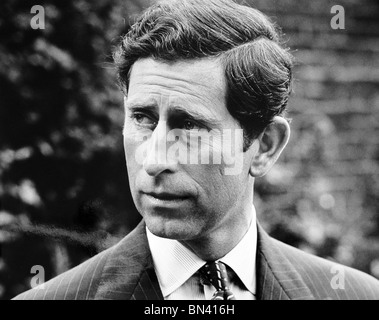 HRH Charles Prince of Wales - Stock Photo