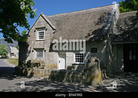Portland Museum In the village of Easton near Church Ope Cove on the Isle of Portland - Stock Photo