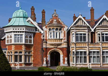 Bletchley Park in Milton Keynes, home of the World War II code breakers. - Stock Photo