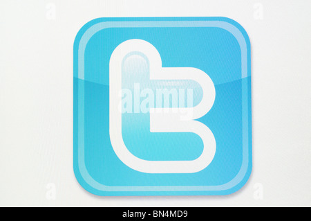 Twitter Logo - Stock Photo