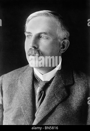 Photo of scientist Ernest Rutherford (1871 - 1937) - winner of the 1908 Nobel Prize in Chemistry + 'father' of nuclear - Stock Photo