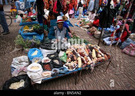 Market in Pisac, Peru