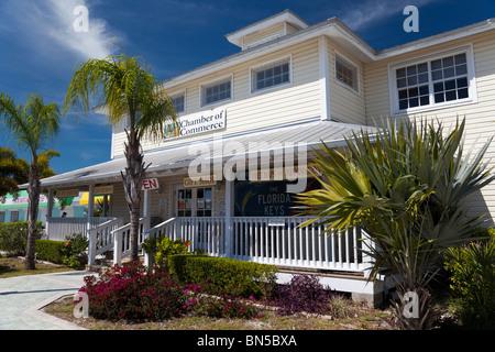 Key Largo Chamber of Commerce, Florida, USA - Stock Photo