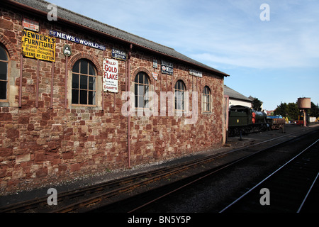 Minehead Railway Station, Somerset - Stock Photo