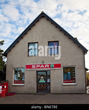 The general store on the island of Iona, Inner Hebrides, Scotland, UK - Stock Photo