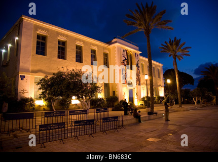 Yaron Yerushalmi  Hall - Susan Delal Cultural Centre in Neve Tzedek area, Tel Aviv - Stock Photo