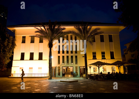 Susan Delal Hall - Cultural Centre in Neve Tzedek area, Tel Aviv - Stock Photo
