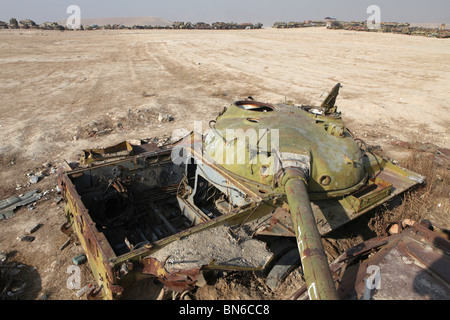 Russian tanks during the soviet war - Stock Photo