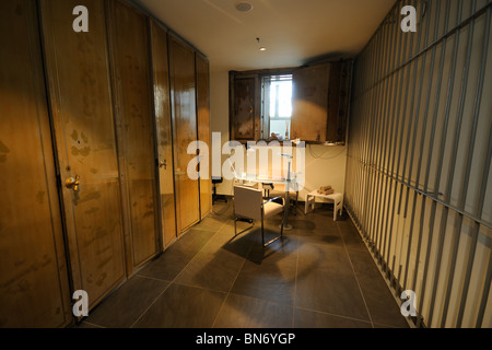 Hotel de Rome. Manicure room in the spa area, former vault of the former State Bank of the GDR, Behrensstrasse 37, - Stock Photo