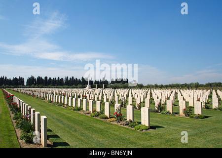 Catania War Cemetery, Sicily, Italy, Europe - Stock Photo
