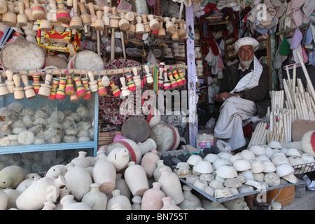 bazaar in Mazar-i-sharif, Afghanistan Stock Photo