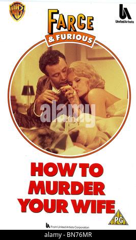 HOW TO MURDER YOUR WIFE (1964) JACK LEMMON, VIRNA LISI RICHARD QUINE (DIR) - Stock Photo