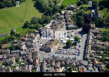 The Market Square, Masham Village, nr Ripon, North Yorkshire, Northern England