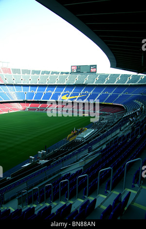 Nou Camp Stadium, Barcelona FC - Stock Photo