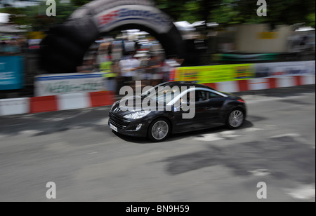 Historic grand prix Bressuire Deux-sevres France - Stock Photo