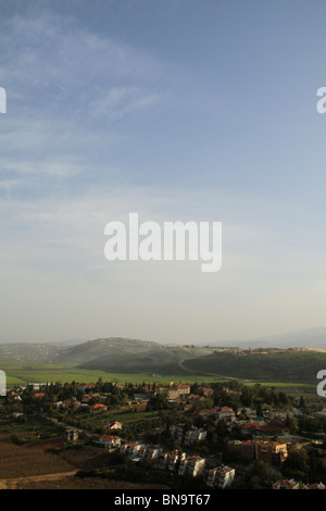 Israel, Upper Galilee, Metula by the Lebanese border - Stock Photo