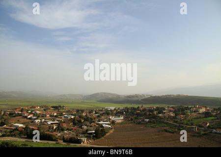 Israel, Upper Galilee, Metula by the Lebanese border - Stock Photo