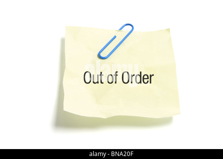 Order a paper note