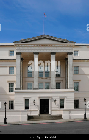 Part of the Lanesborough Hotel previously St Georges Hospital Hyde Park Corner - Stock Photo