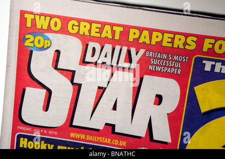 The Daily Star Newspaper . - Stock Photo