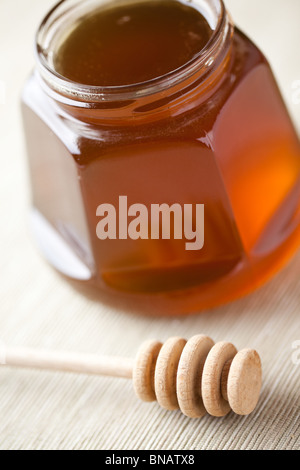 sweet honey - Stock Photo