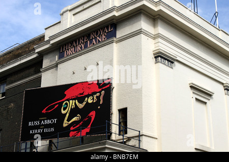 Oliver showing at the Theatre Royal Drury Lane London July 2010 - Stock Photo