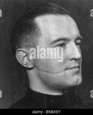 WILLIAM JOYCE (1906-46) nicknamed Lord Haw-Haw for his anti-British broadcasts during WW2.  See Description below - Stock Photo