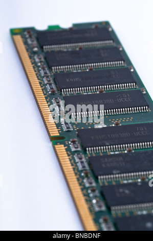 RAM memory from a personal computer, PC - Stock Photo