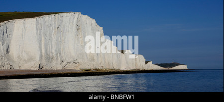 3242. Seven Sisters, Cuckmere Haven, East Sussex, UK - Stock Photo