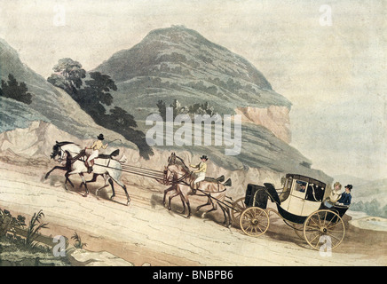 The Newly Elected MP (on his way to the House of Commons), 1835 - Stock Photo