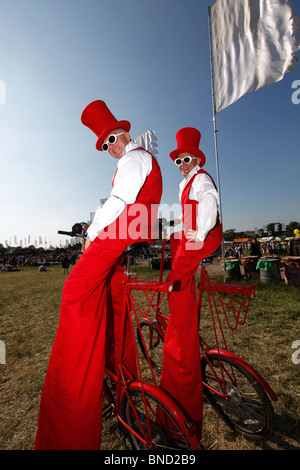 Glastonbury 2010 - Stock Photo