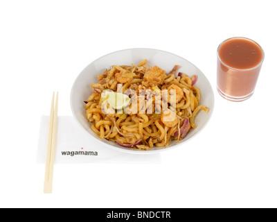Amai Udon with Fruit Smoothie - Stock Photo
