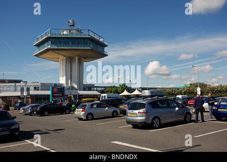 Lancaster Forton Motorway Services, M6, England - Stock Photo