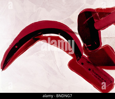 Hammer and Sickle by Andy Warhol, (1928-1987) - Stock Photo
