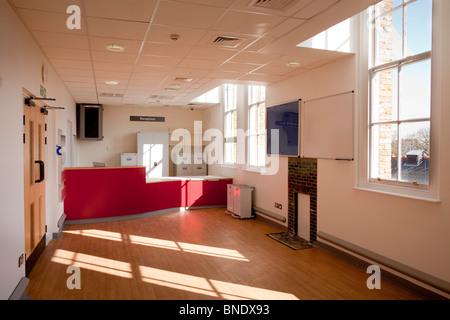Refurbishment of Saint Charles Hospital London W10. - Stock Photo