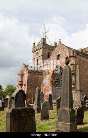 St Michaels Parish Church, Linlithgow, United Kingdom - Stock Photo