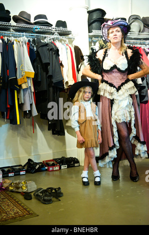 A Tourist Shopping In The Indoor Clothing Market Port Louis Stock Photo Royalty Free Image