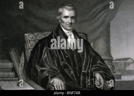 Chief Justice John Marshall, US Supreme Court, American History - Stock Photo