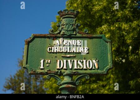 Cimetiere du Pere-Lachais 20th arrodissement Paris France Europe - Stock Photo