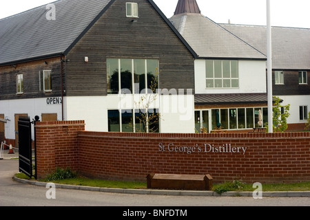 St George's Distillery Roudham Norfolk. The English Whisky Co. Ltd. - Stock Photo