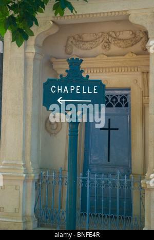 Cimetiere du Pere-Lachais 20th arrondissement Paris France Europe - Stock Photo