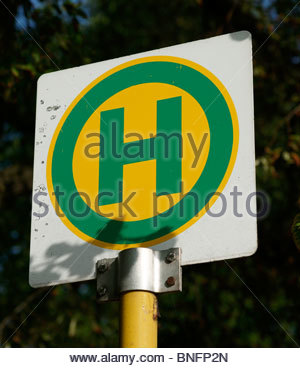 possible - Hospital sign Germany - Stock Photo