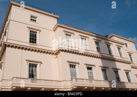 Grade I Listed Building. The British Academy's offices at 10 Carlton House Terrace, London, UK - Stock Photo