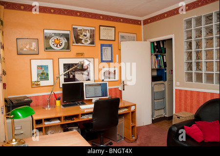 Paris France, Old Office Furniture, Four Drawer Filing Cabinet in ...
