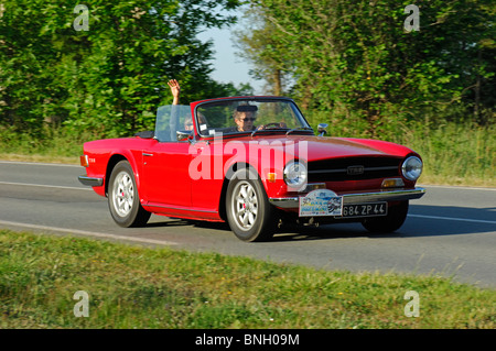 vintage car triumph tr6 stock photo 56866485 alamy. Black Bedroom Furniture Sets. Home Design Ideas