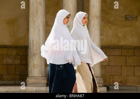 portrait of young women in Cairo Egypt - Stock Photo