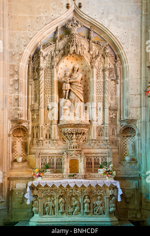 Europe, France, Charente-Maritime (17), Saint-Pierre Cathedral - Stock Photo