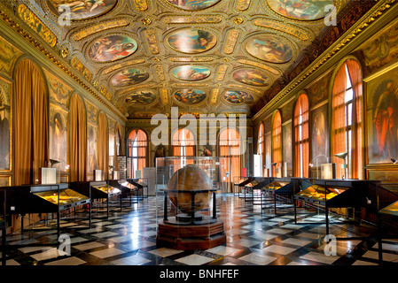 Europe, Italy, Venezia, Venice, Listed as World Heritage by UNESCO, Piazza San marco, Museo Correr Interior - Stock Photo
