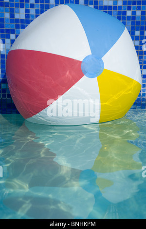 Beach Ball In Water