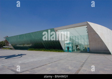 MUAC University Museum of Contemporary Art in Mexico City campus - Stock Photo
